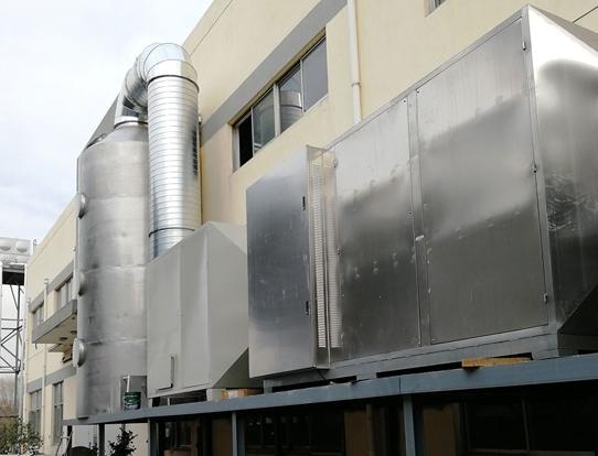服裝加工廠廢氣處理