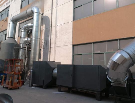 食品廠廢氣處理工程