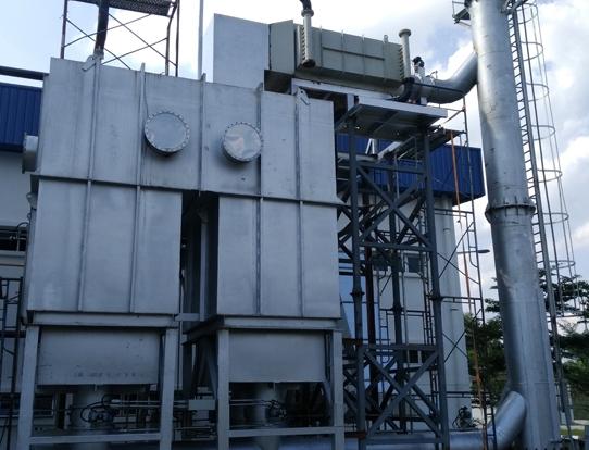 RTO廢氣焚燒處理系統